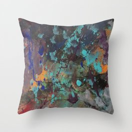 Slipping Away Throw Pillow