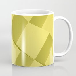 Yellow Mode 3/4. Fashion Textures Coffee Mug
