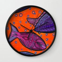 FISH3 Wall Clock