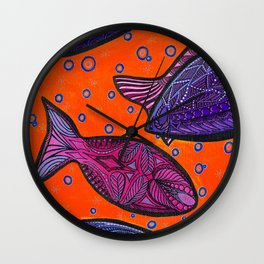 FISH3 Wall Clock