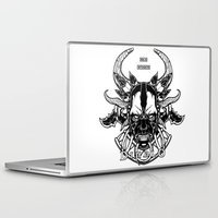 diablo Laptop & iPad Skins featuring Diablo III. Witch Doctor by OneAppleInBox