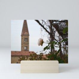 Roof Top Garden in Florence (4/5) Mini Art Print
