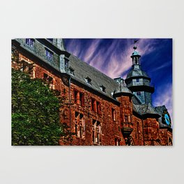 Romrod Castle Germany Canvas Print