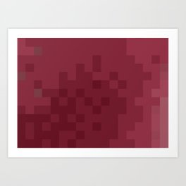 ABSTRACT PIXELS #0003 Art Print