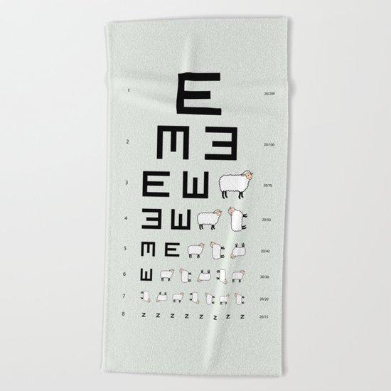The EWE Chart Beach Towel