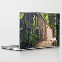 indiana Laptop & iPad Skins featuring Indiana Summer by Amy J Smith Photography