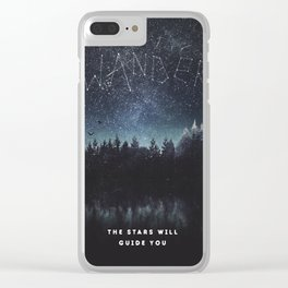 Its written in the stars Clear iPhone Case