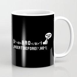 Bro Code | Geek Programmer Coffee Mug
