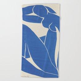 Blue Nude by Henri Matisse  Beach Towel