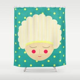 Am shy Shower Curtain