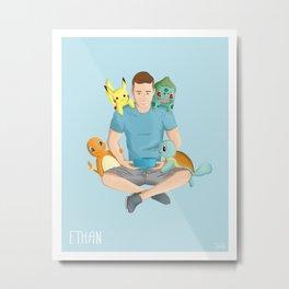 Ethan Hethcote Metal Print