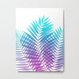 Malibu Palms Metal Print