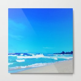 Carribean Coast Metal Print