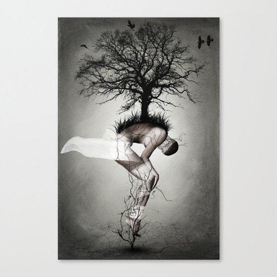 Horror poster Canvas Print