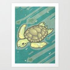 Tortuga! Art Print