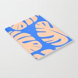 Monstera Leaf Print 5 Notebook