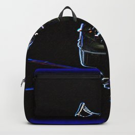 Inverted Lynx In Neon Backpack