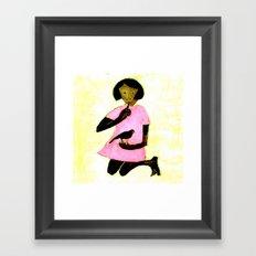 Jan Framed Art Print