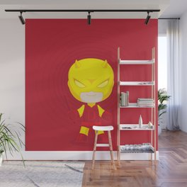 Daredevil Yellow Wall Mural