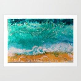 Ocean's Bliss Art Print