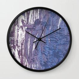 Rhythm abstract watercolor Wall Clock