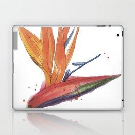 Strelitzia watercolor Laptop & iPad Skin