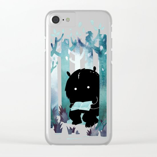 A Quiet Spot Clear iPhone Case