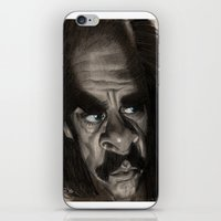 nick cave iPhone & iPod Skins featuring Nick Cave by Patrick Dea