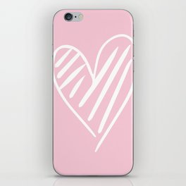 The Scribbled Heart iPhone Skin