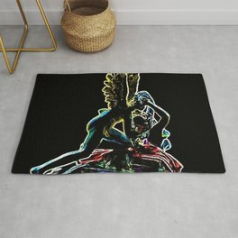 Psyche Revived by Cupid's Kiss by Jéanpaul Ferro Rug
