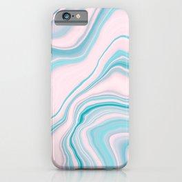 Liquid Pastel Agate Dream #1 #pastel #decor #art #society6 iPhone Case