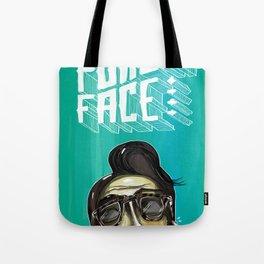 Poker Face 4 Tote Bag