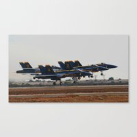 aviation Canvas Prints featuring Aviation Photography by Suzanne Gallagher