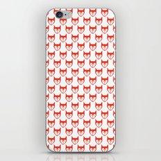 Red Fox Pattern iPhone & iPod Skin