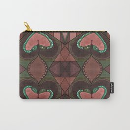 WOVEN SNAKE HEARTS Carry-All Pouch