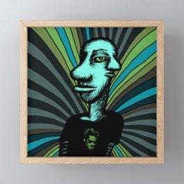 Tyler Durden Framed Mini Art Print