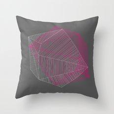 Shapes N Stripes Throw Pillow