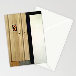 Three Comes After Two Stationery Cards