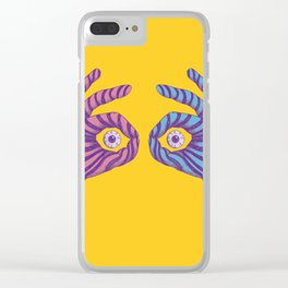 Thief Eyes Clear iPhone Case