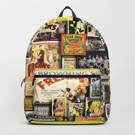 Vintage Freaks by iamjohnlogan Backpack