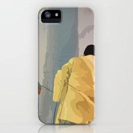 Jurassic Park - Dennis and the Dilophosaurus iPhone Case
