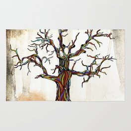 Tree of Many Colors Rug