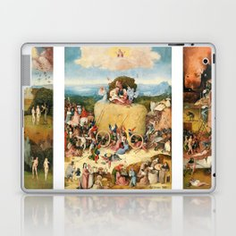 The Haywain Triptych by Bosch 1519 Laptop & iPad Skin