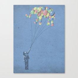 The Lightest Elephant Canvas Print