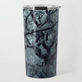 Blue grey Travel Mug