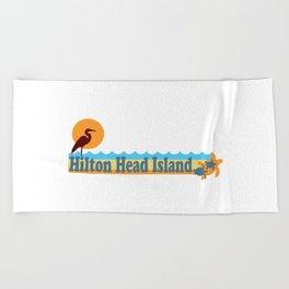 Hilton Head Island - South Carolina. Beach Towel