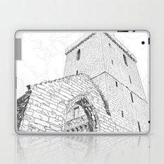 St Serf's Tower, Dysart, the Kingdom of Fife, Scotland. Laptop & iPad Skin