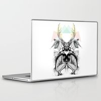 wild things Laptop & iPad Skins featuring Wild Things by MadeByLen