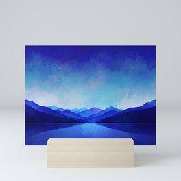 Midnight Blue Mini Art Print