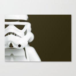 trooper portrait Canvas Print